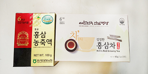 Kim's Red Ginseng Tea